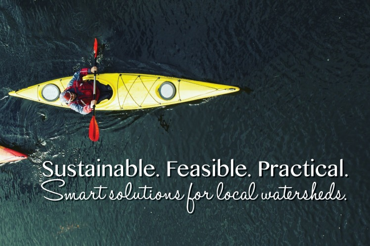 Smart solutions for local watersheds.