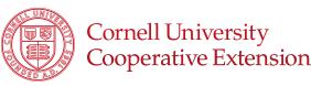 Cornell University Cooperative Extension logo
